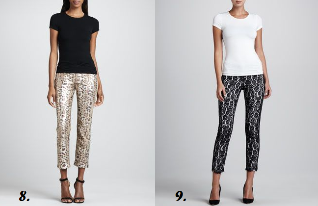 Plus size printed and lace pants at neiman marcus - Shapely ...