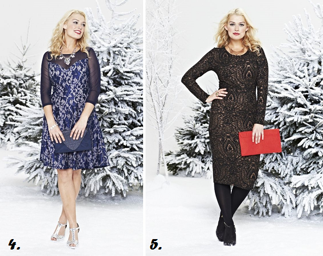 Holiday Dresses for plus size women - Shapely Chic Sheri - Plus Size ...