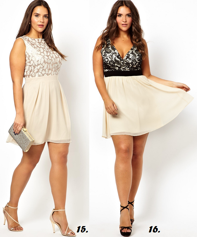 ffc62d3573b Pastel Plus Size Holiday Dresses for Curvy Girls Under  100