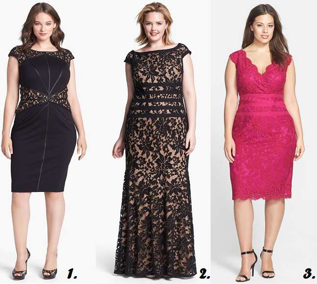 Plus Size Tadashi Shoji Dresses For Curvy Girls Plus Size Dresses