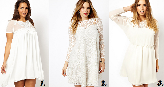 Plus Size Winter White Dress, Plus Size lace dresses, Plus ...