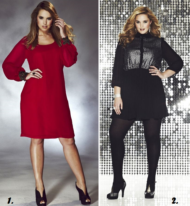 c6cca1ff4ba Currently Craving  16 Plus Size Holiday Dresses Under  100 - Shapely Chic  Sheri - Plus Size Fashion Blog for Curvy Women