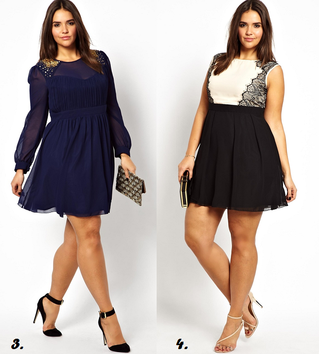Plus size dresses for curvy women - Shapely Chic Sheri - Plus Size ...