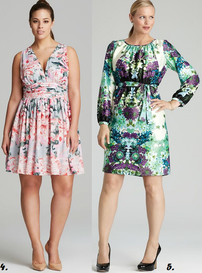 Plus Size Floral Print Dresses At Bloomingdales Shapely Chic Sheri