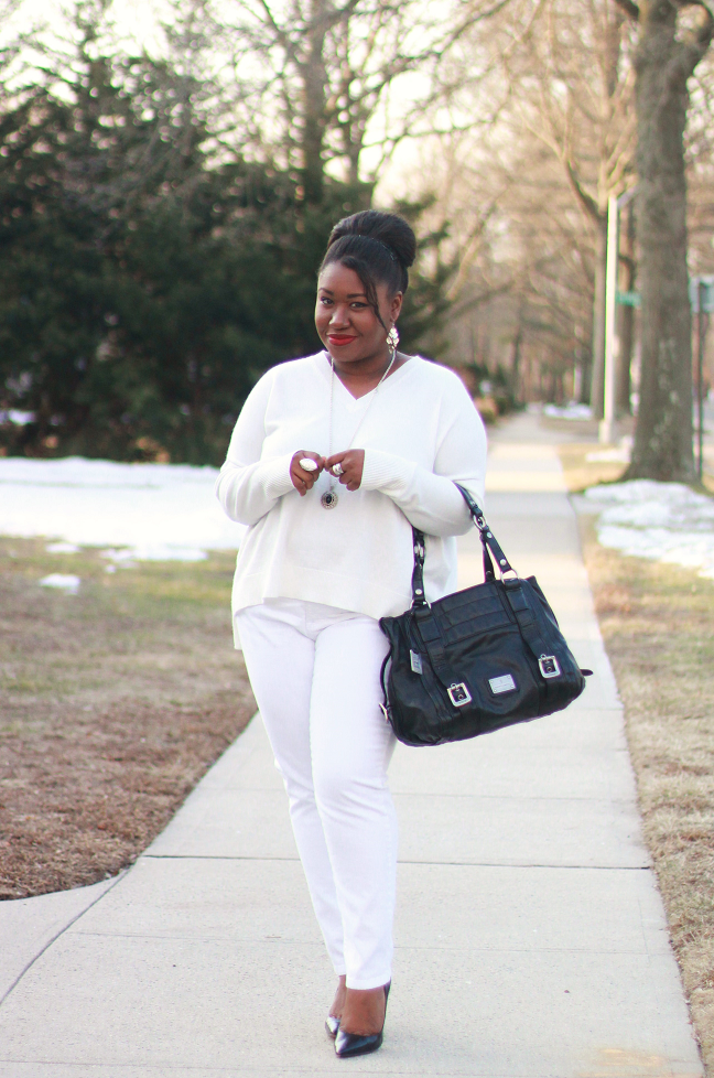 plus-size-winter-white-outfit-ideas - Shapely Chic Sheri - Plus Size ...