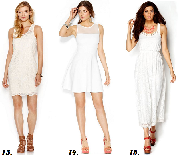 All White Party Outfit Ideas Curvy Fashion Blog Shapely Chic Sheri