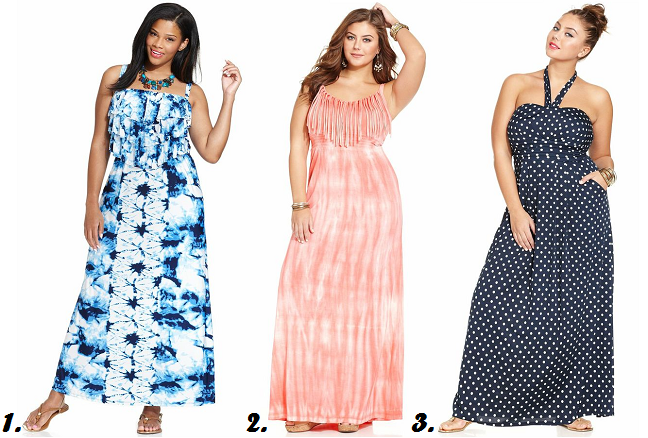 plus-size-maxi-dresses-polka-dot-tie-dye-summer-dresses ...