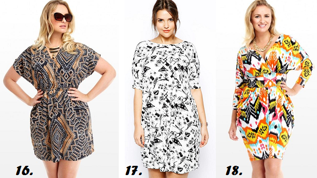 Plus Size Printed Dresses Spring Summer 2014 Shapely Chic Sheri