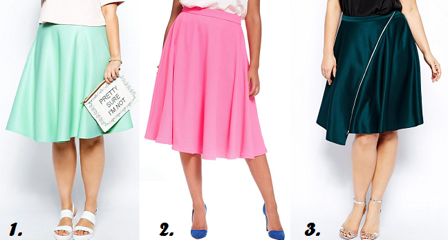 Currently craving plus sized midi skirts shapely