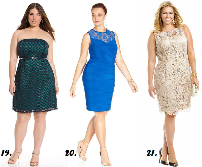 Plus Size Semi Formal Wedding Guest Dresses Curvy Fashion Style Blog