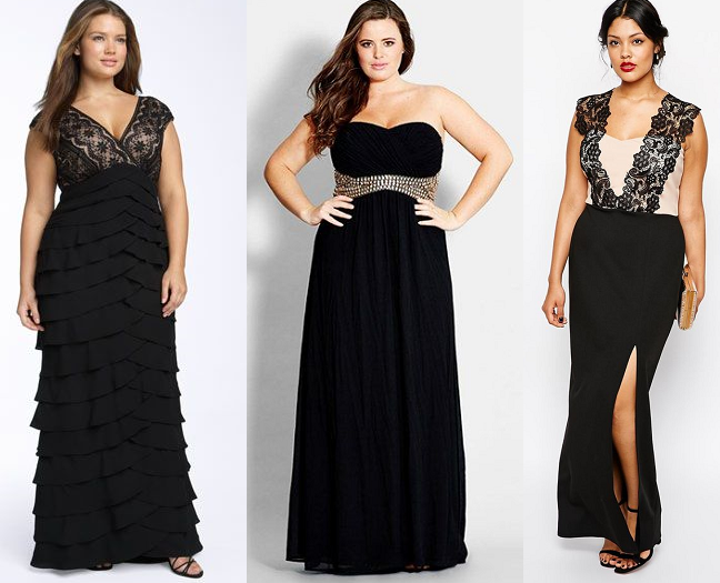 plus-size-black-evening-formal-dresses-curvy-fashion-blog - Shapely ...
