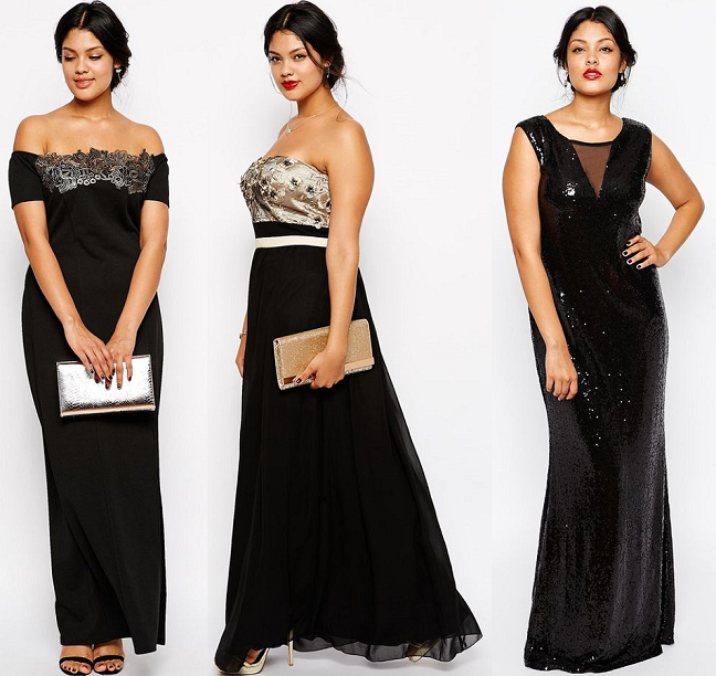 Evening Gowns for Curvy Women