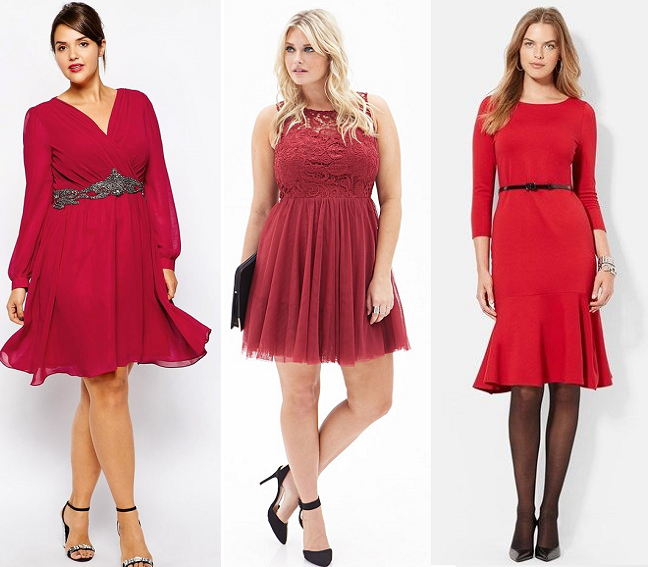 Plus Size Formal Red Holiday Dresses Curvy Faschion Blog Shapely