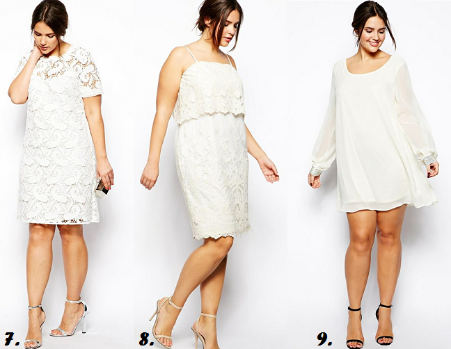 Plus Size Dresses For All White Party Curvy Fashion Blog Shapely