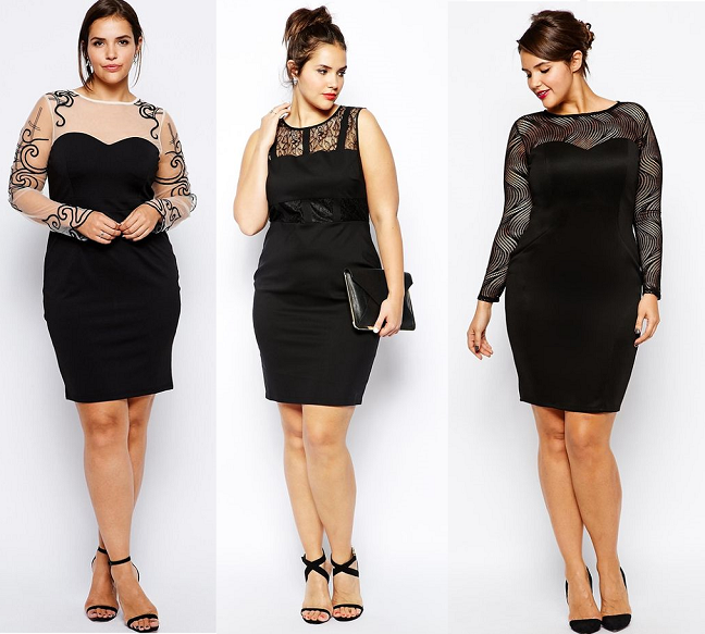 30 Plus Size Little Black Dresses Shapely Chic Sheri Plus Size