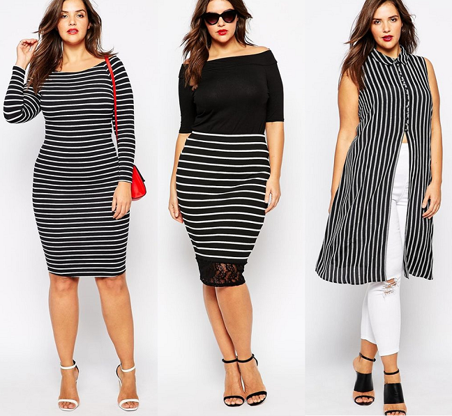 plus-size-statement-striped-dresses-tops-skirts-spring-trend-2015 ...