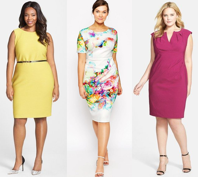 Plus Size Spring Work Office Dresses Yellow Curvy Fashion Blog