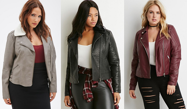 15 Plus-Size Leather Jackets for Fall - Shapely Chic Sheri - Plus ...