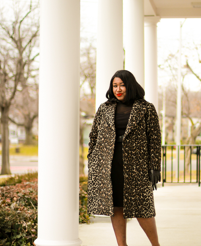 ab0cfed975a how-to-wear-black-pencil-skirt-leopard-coat-outfit-idea-plus-size-fashion- blog