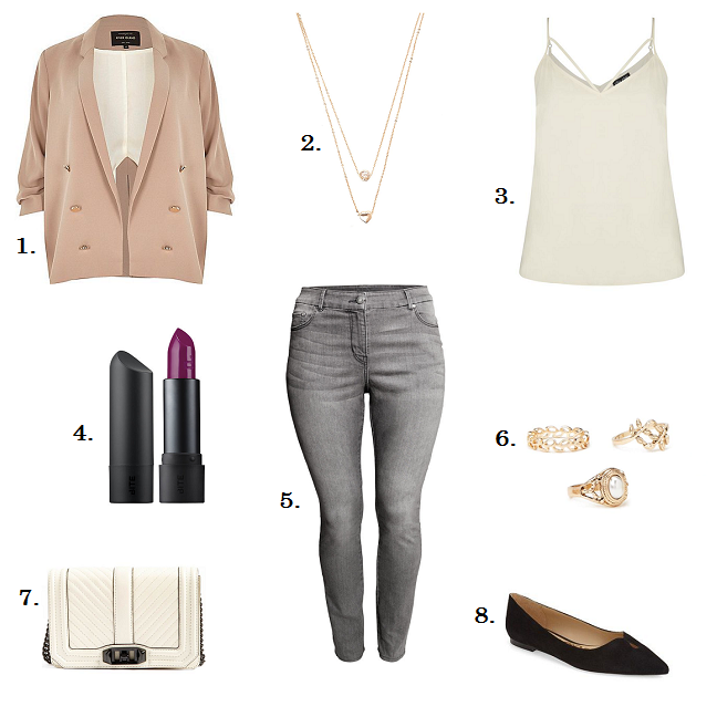 Valentine S Day Casual Outfit Idea Plus Size Fashion Blog Shapely