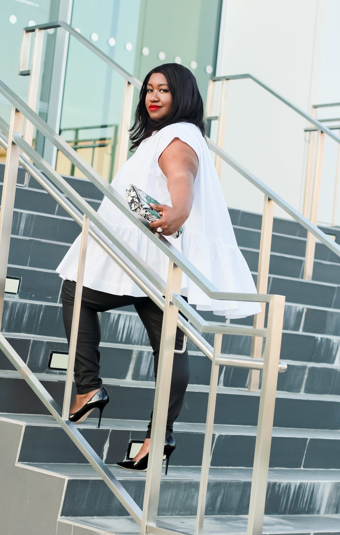 Plus Size Fashion Blogger Casual Outfit Idea