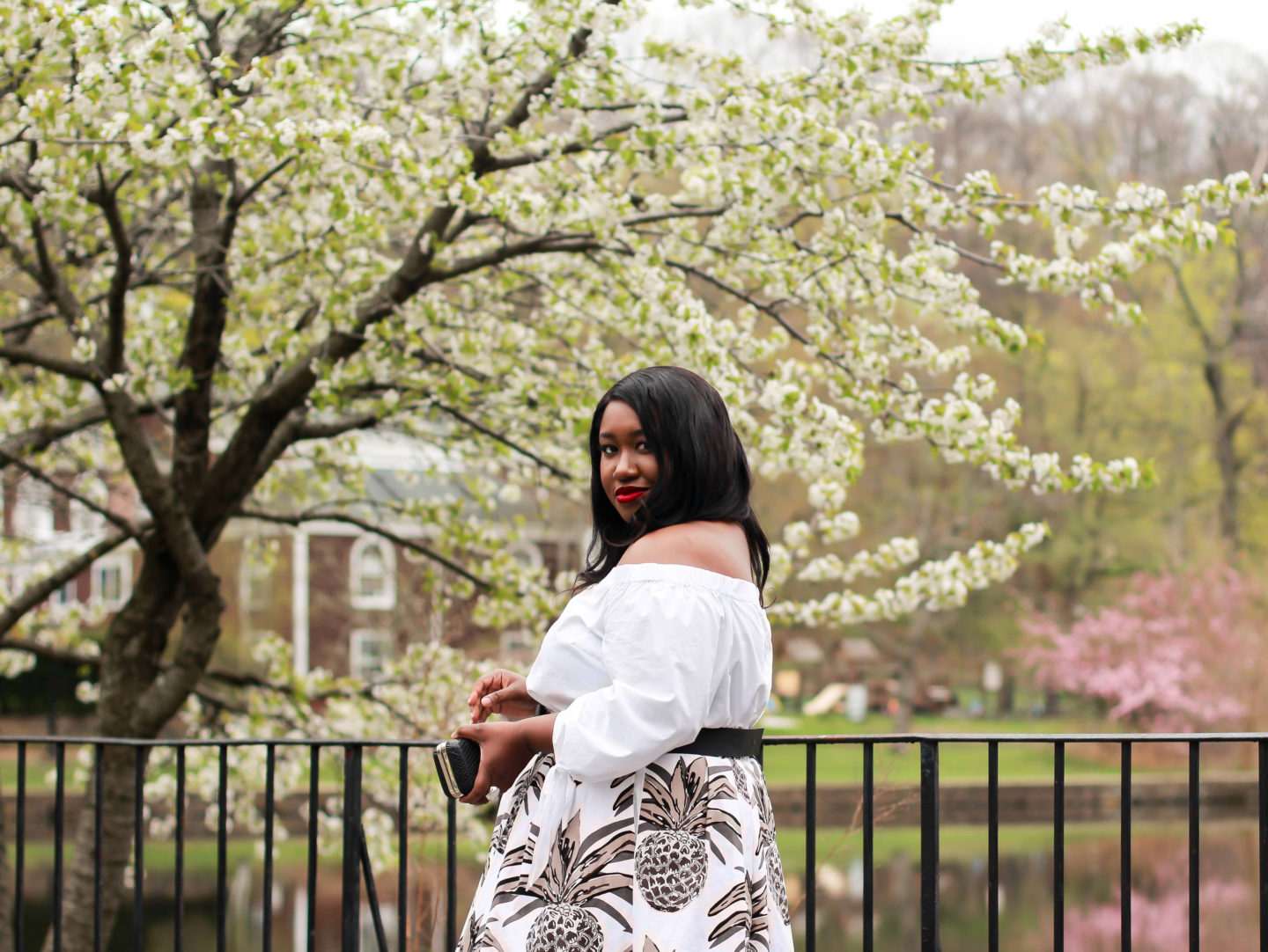how to wear all white plus size outfit idea summer