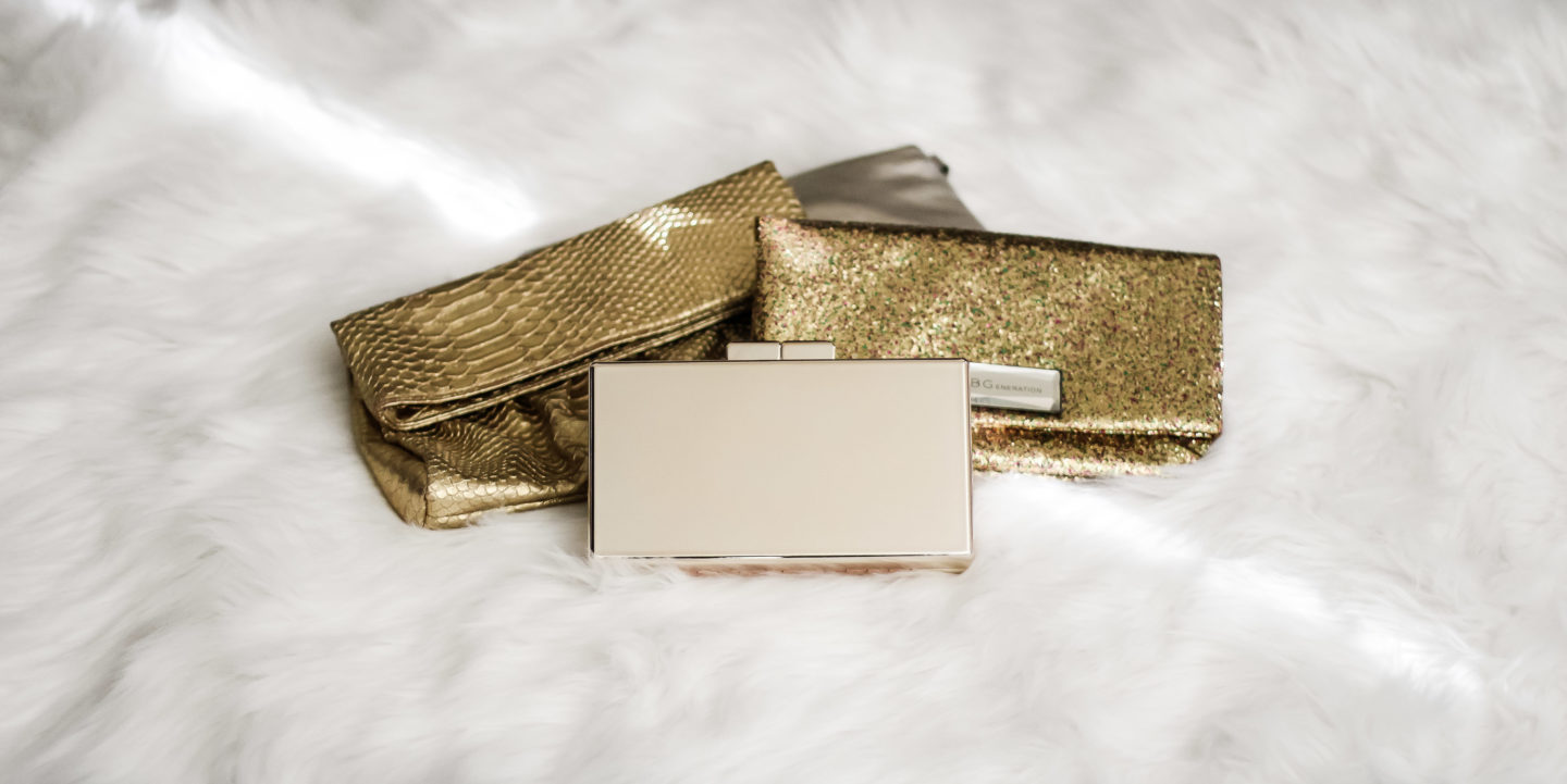 Plus Size Fashion for Women • 30 Metallic Clutches for the Holiday Season | Shapely Chic Sheri