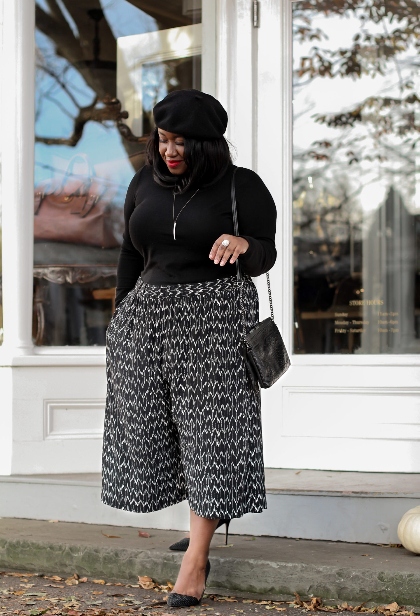 Plus Size Fashion for Women • Plus Size Wide-Leg Pants Outfit Idea • Style Staples | Shapely Chic Sheri