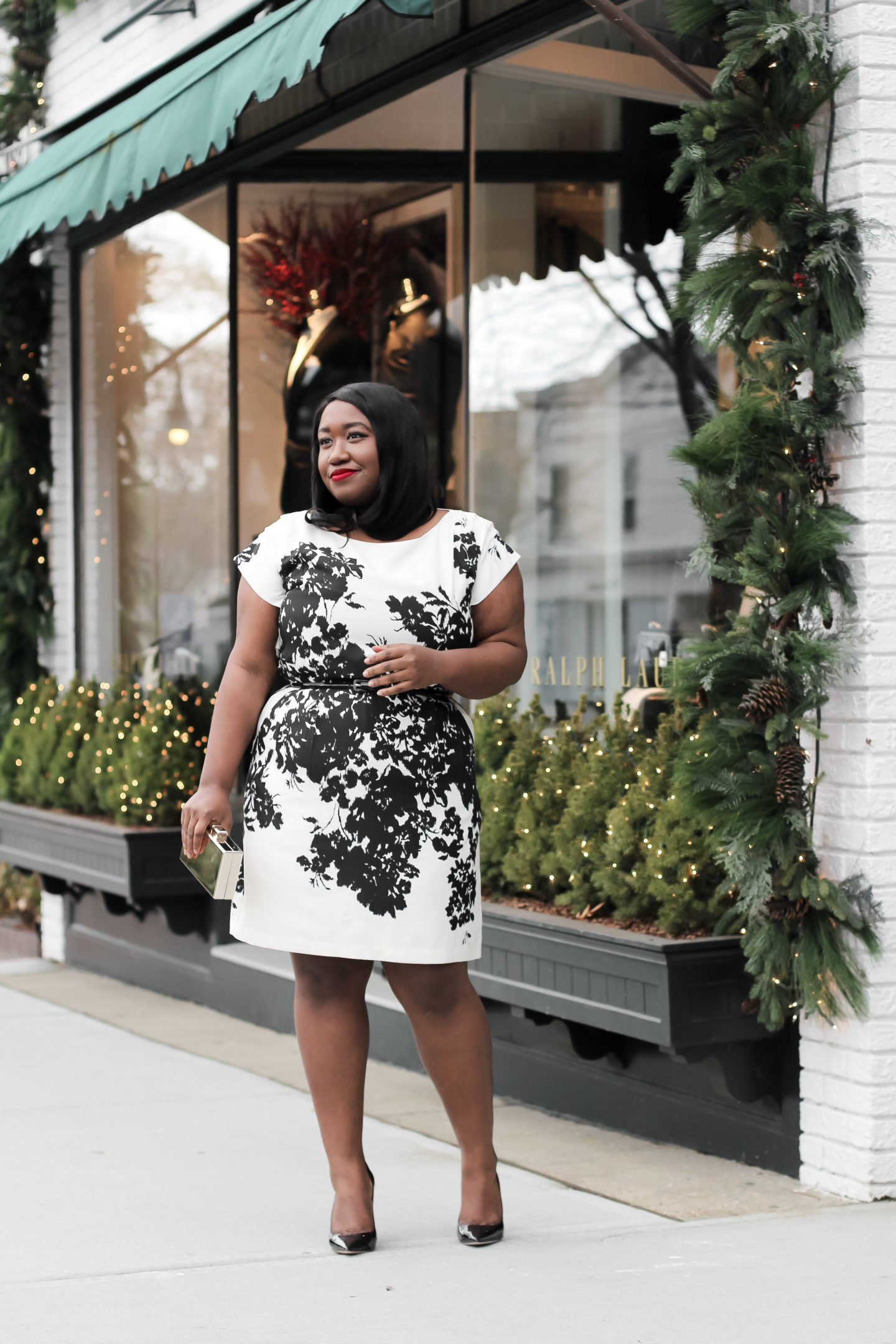 Plus Size Fashion for Women • Plus Size Holiday Outfit Idea • 50 Plus Size Holiday Dresses | Shapely Chic Sheri