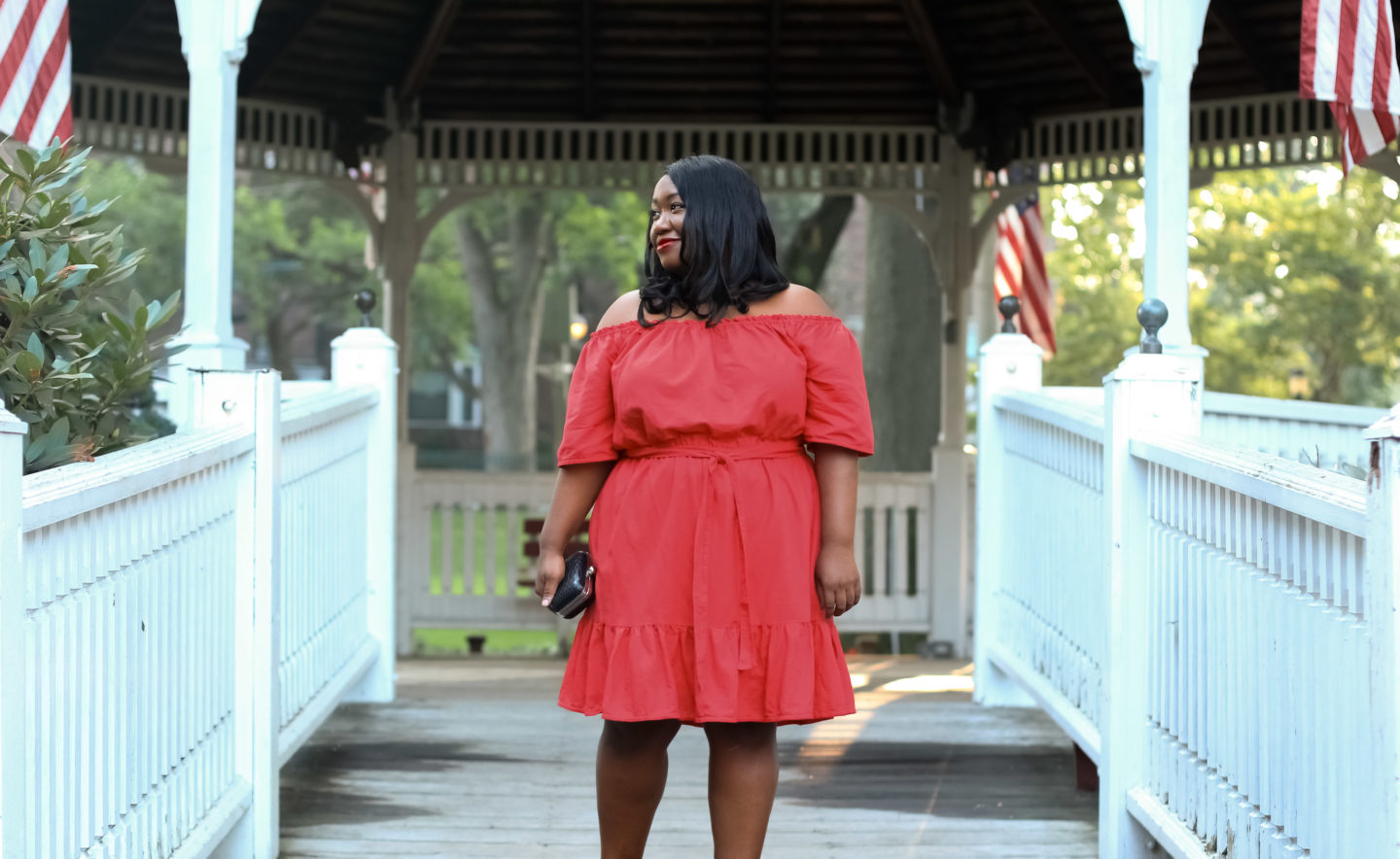 06ecf55d2f2 Plus Size Little Red Dress - Shapely Chic Sheri