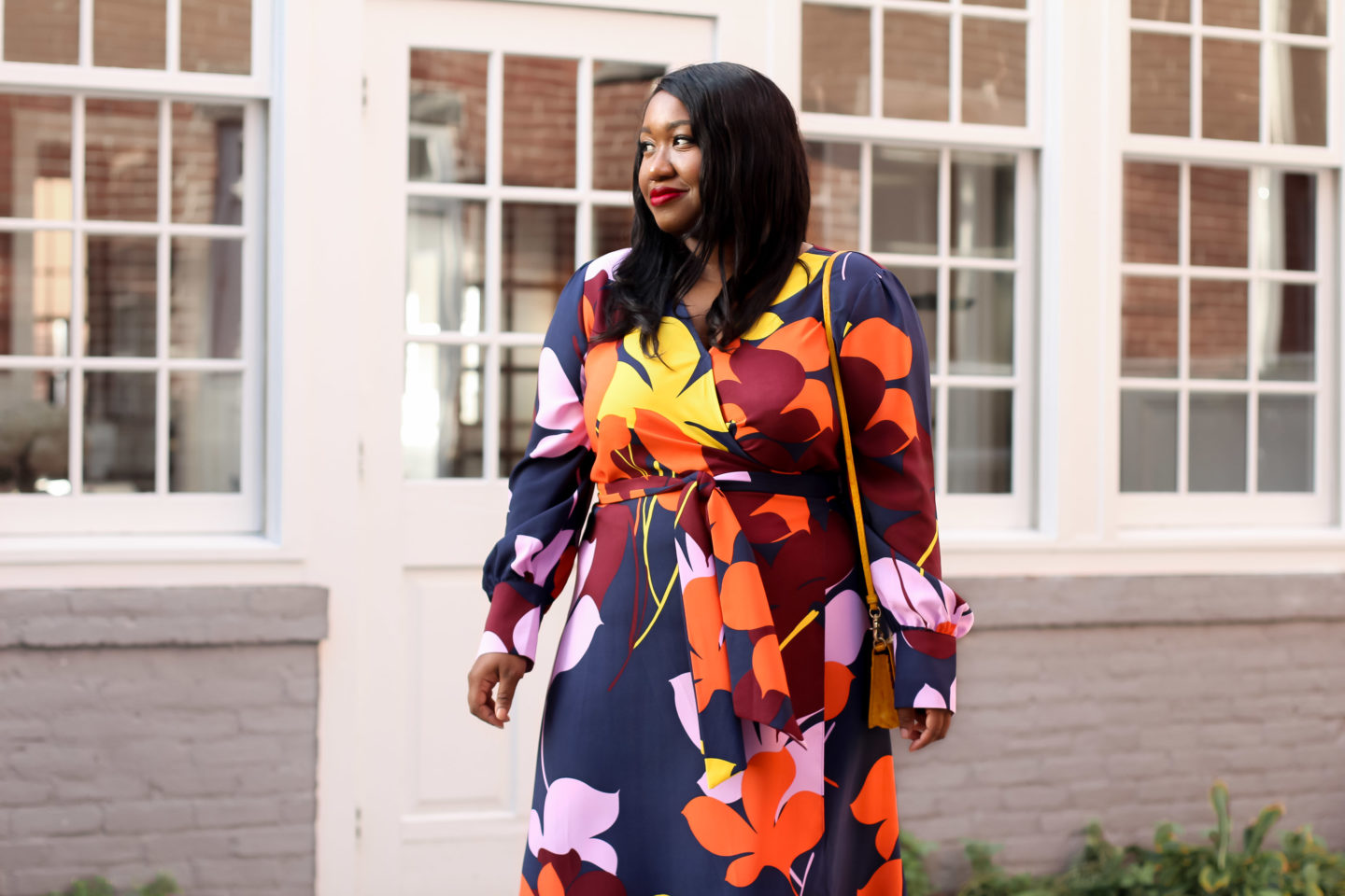 0a56857729469 30 Plus-Size Dresses for Fall - Shapely Chic Sheri - Plus Size ...