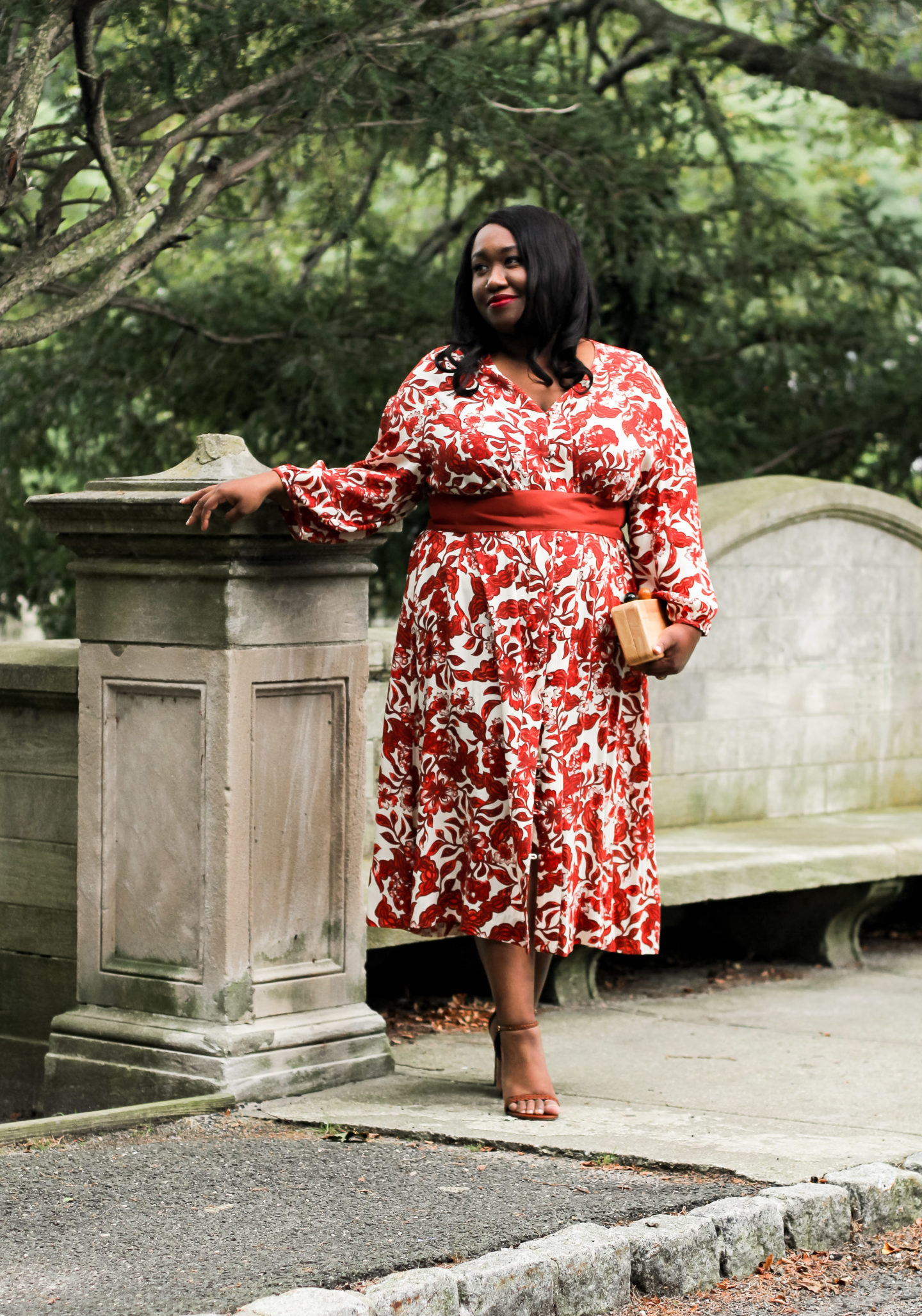 50 Plus Size Fall Wedding Guest Dresses - Shapely Chic Sheri