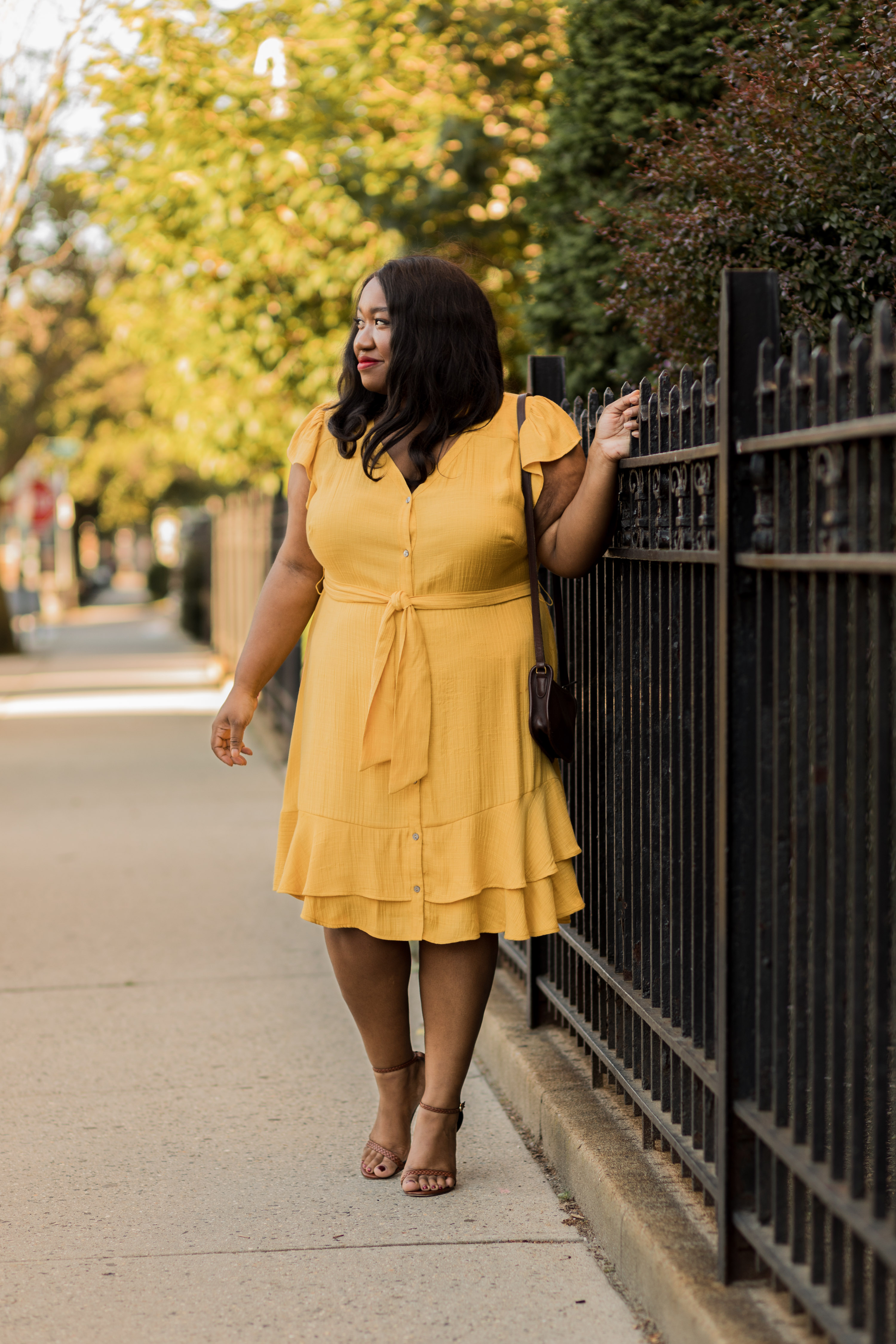 plus-size-yellow-summer-dress-outfit-idea-curvy-women - Shapely Chic ...